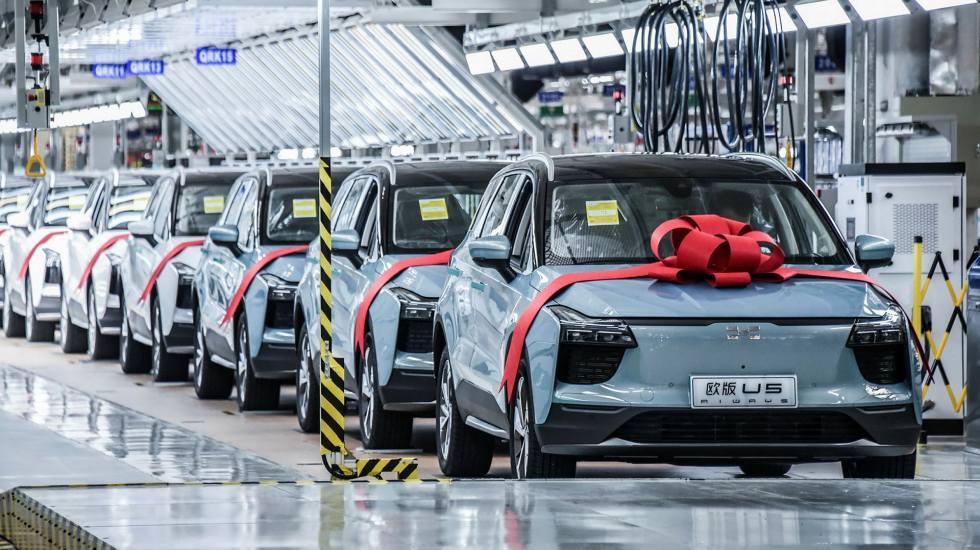 Τα κινεζικά ηλεκτρικά αυτοκίνητα εισβάλουν στην αγορά της Ευρώπης