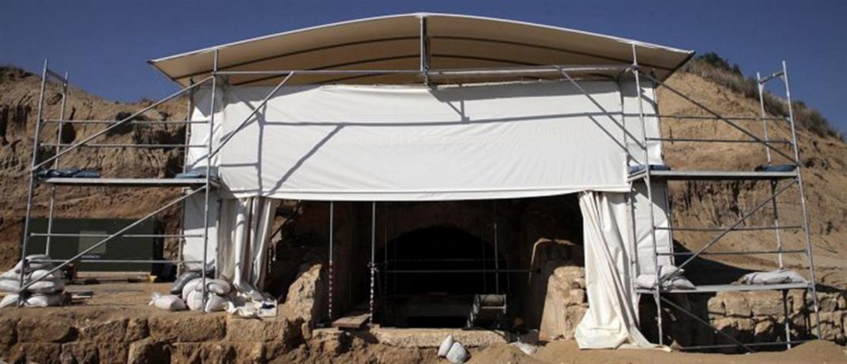 Αμφίπολη: Αυτό θα είναι το εξωτερικό κέλυφος στον τύμβο Καστά