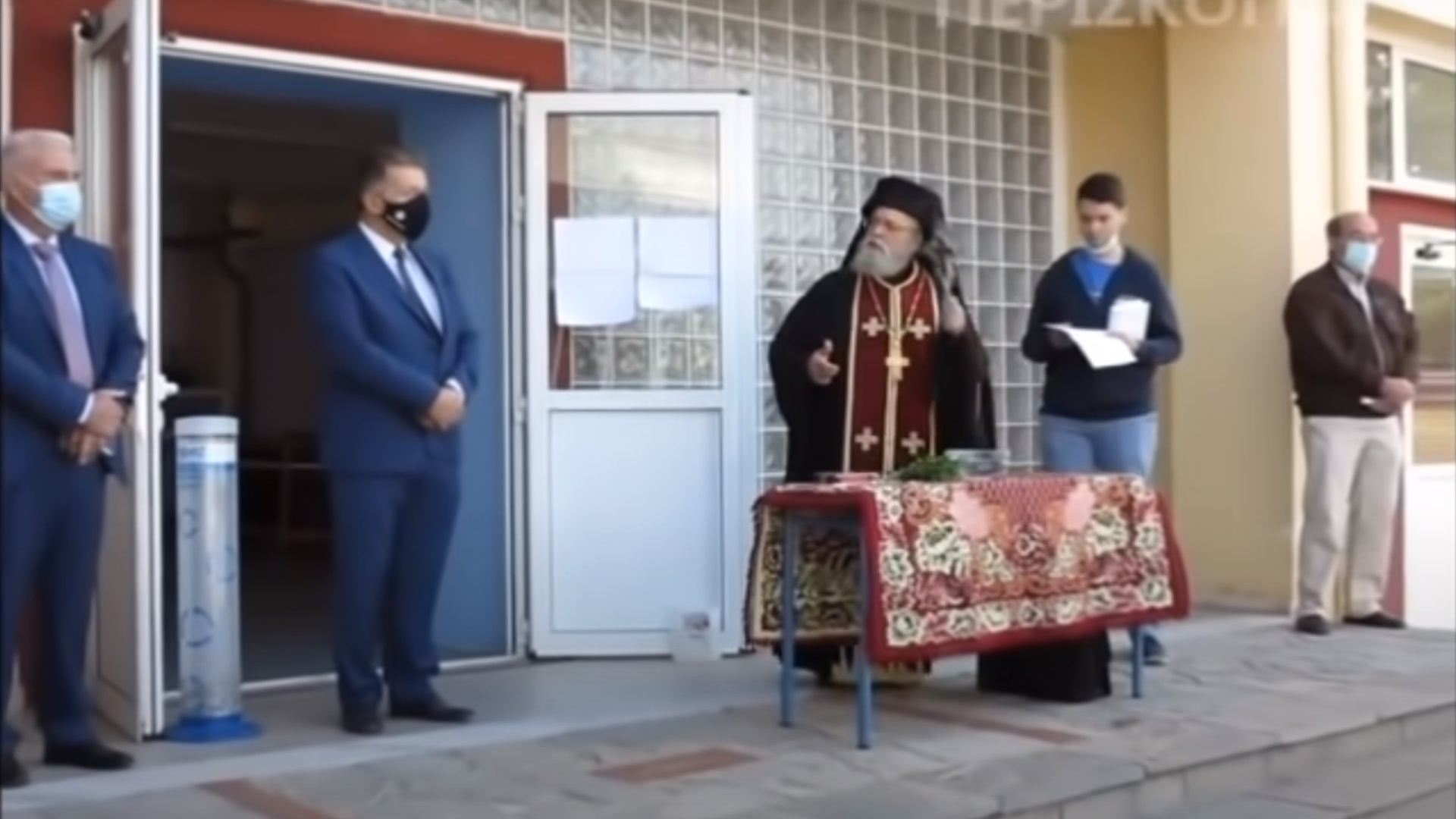 Φλώρινα: Αντιδράσεις για τον επεισοδιακό αγιασμό στο Αμύνταιο