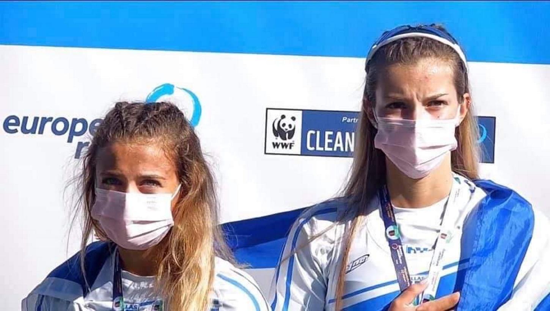 «Χρυσές» η ΟΠΑΠ Champion Ευαγγελία Αναστασιάδου και η Ευαγγελία Φράγκου – Αναδείχθηκαν πρωταθλήτριες Ευρώπης στο διπλό σκιφ