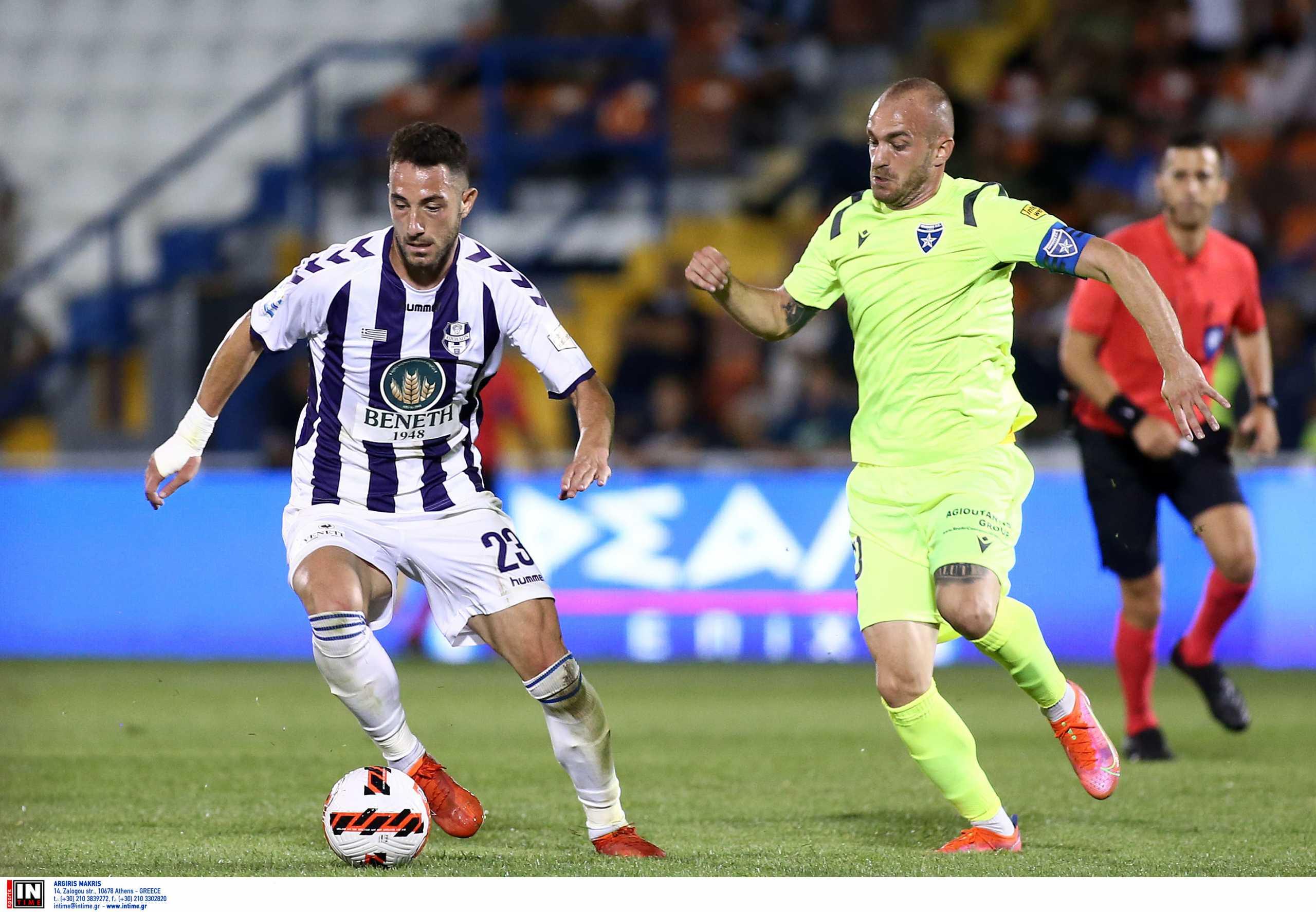 Superleague 1, Απόλλων Σμύρνης – Ιωνικός 0-0: Έλειψε το γκολ στη Ριζούπολη