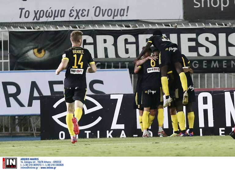 Superleague 1, Ατρόμητος - Αρης 1-3: «Αλωσαν» το Περιστέρι και ανεβαίνουν οι «κίτρινοι»
