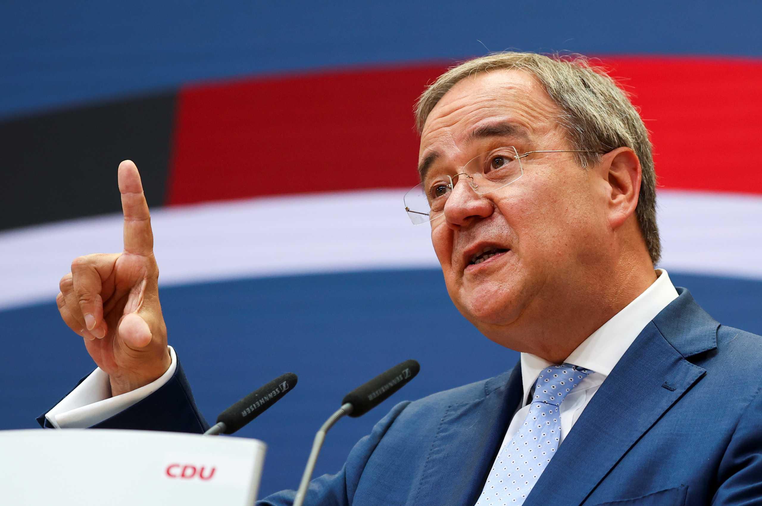 Εκλογές στη Γερμανία – Άρμιν Λάσετ: Κανένα κόμμα δεν έχει την εντολή να κυβερνήσει