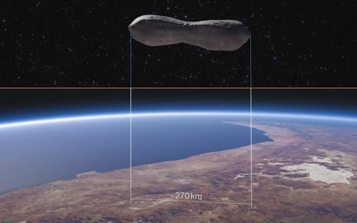 «Κλεοπάτρα»: Ένας αστεροειδής που μοιάζει με κόκκαλο σκύλου