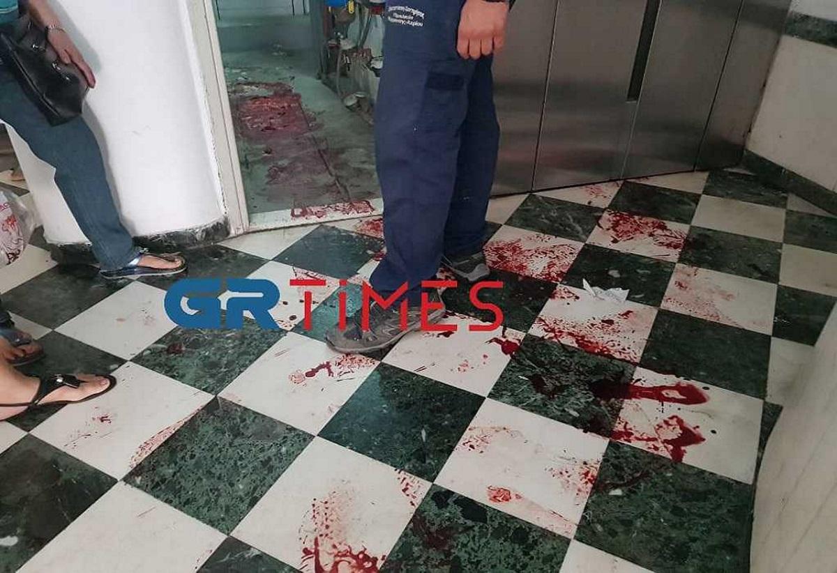 Θεσσαλονίκη: Τον «έκοψε» ο νιπτήρας του μπάνιου και πλημμύρισε η πολυκατοικία αίματα