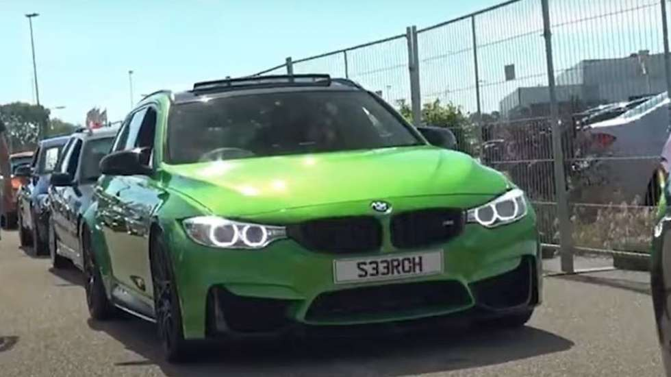 Με τέσσερις κλεμμένες BMW έφτιαξε τη M3 που δεν βγάζει το εργοστάσιο!!! (video)