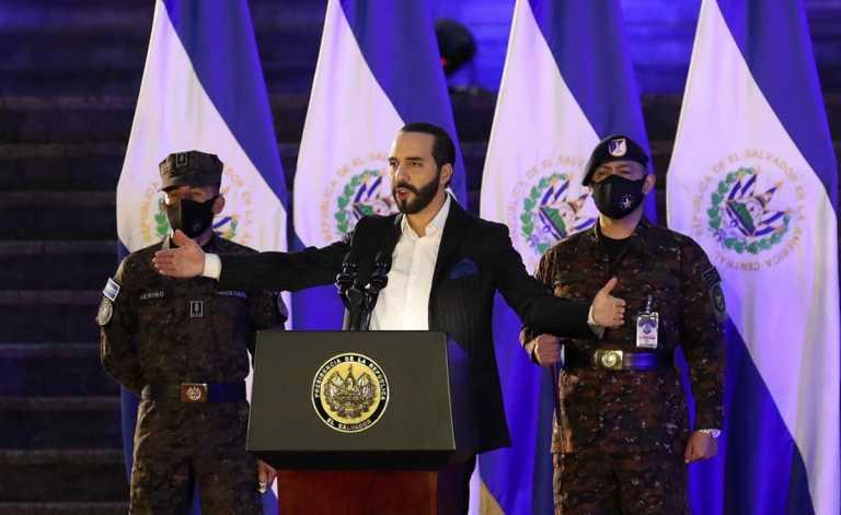 Ελ Σαλβαδόρ: Ο Ναγίμπ Μπουκέλε αυτοανακηρύχθηκε... δικτάτορας στο Twitter