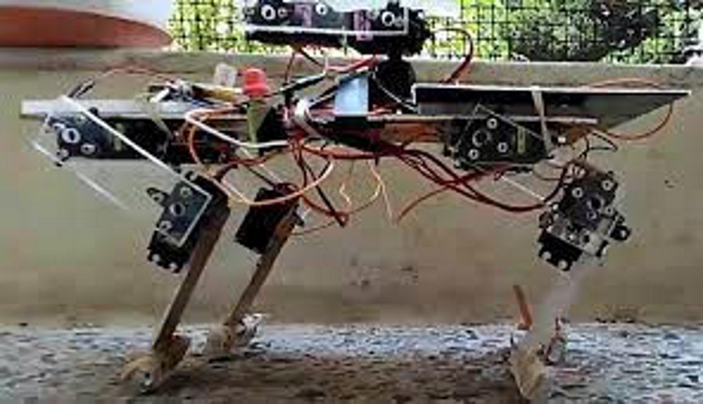 Θεσσαλονίκη: Δείτε το ρομπότ με πόδια που έφτιαξε μαθητής για την έγκαιρη ανίχνευση πυρκαγιών