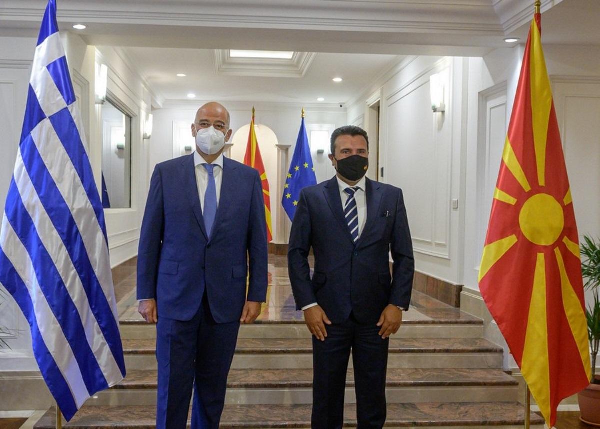 Ζόραν Ζάεφ – Νίκος Δένδιας: «Η Βόρεια Μακεδονία βασίζεται στην Ελλάδα»