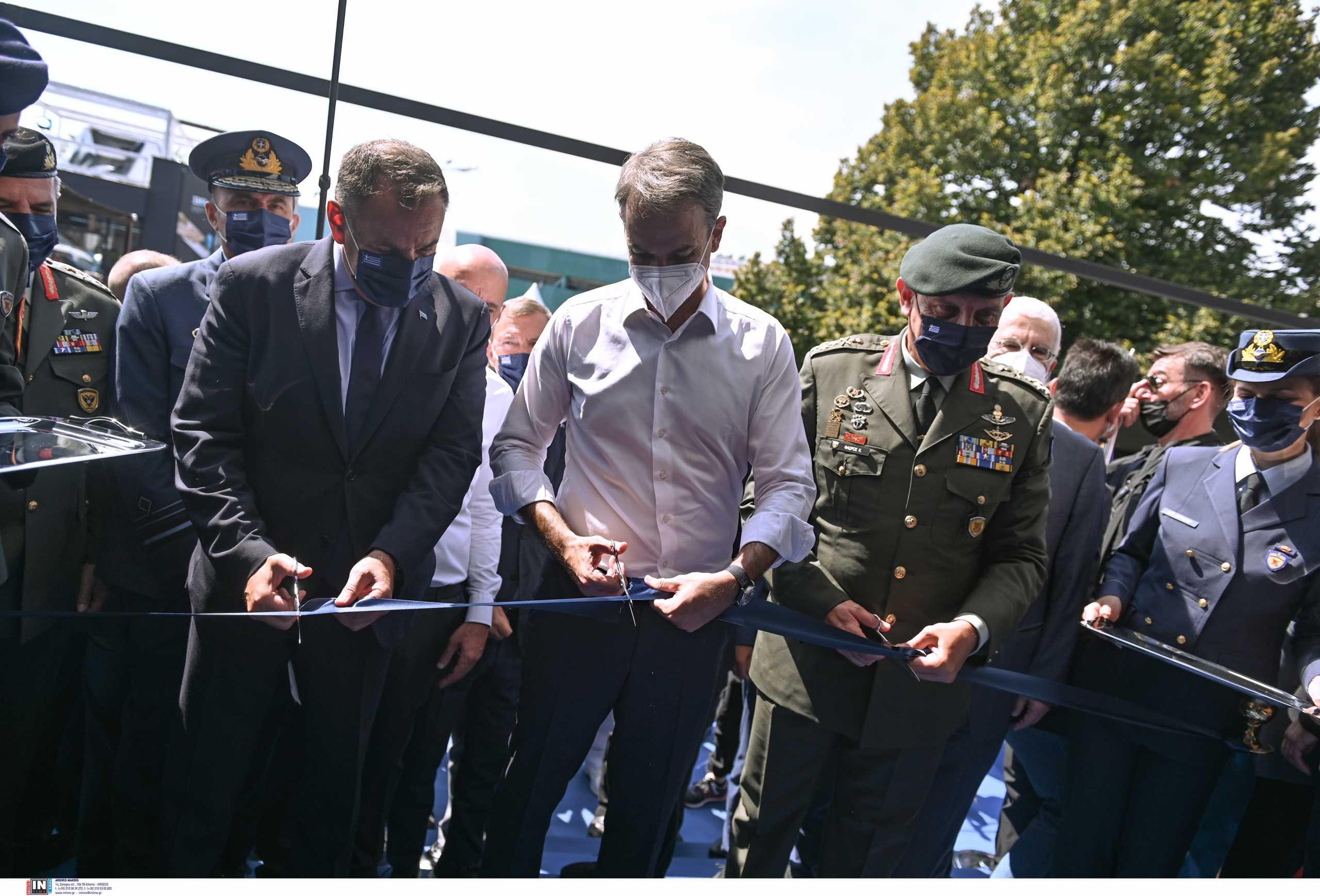 ΔΕΘ 2021: «Δυναμικό παρών» των Ενόπλων Δυνάμεων – Εγκαινιάστηκε το περίπτερο ΥΠΕΘΑ