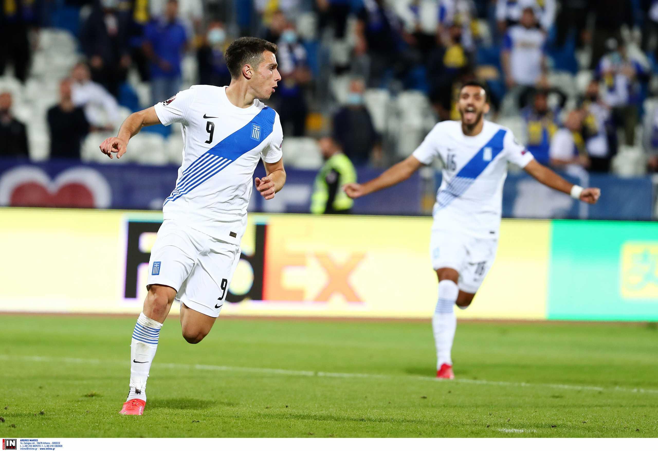 Κόσοβο – Ελλάδα: Σπουδαίο γκολ ο Δουβίκας