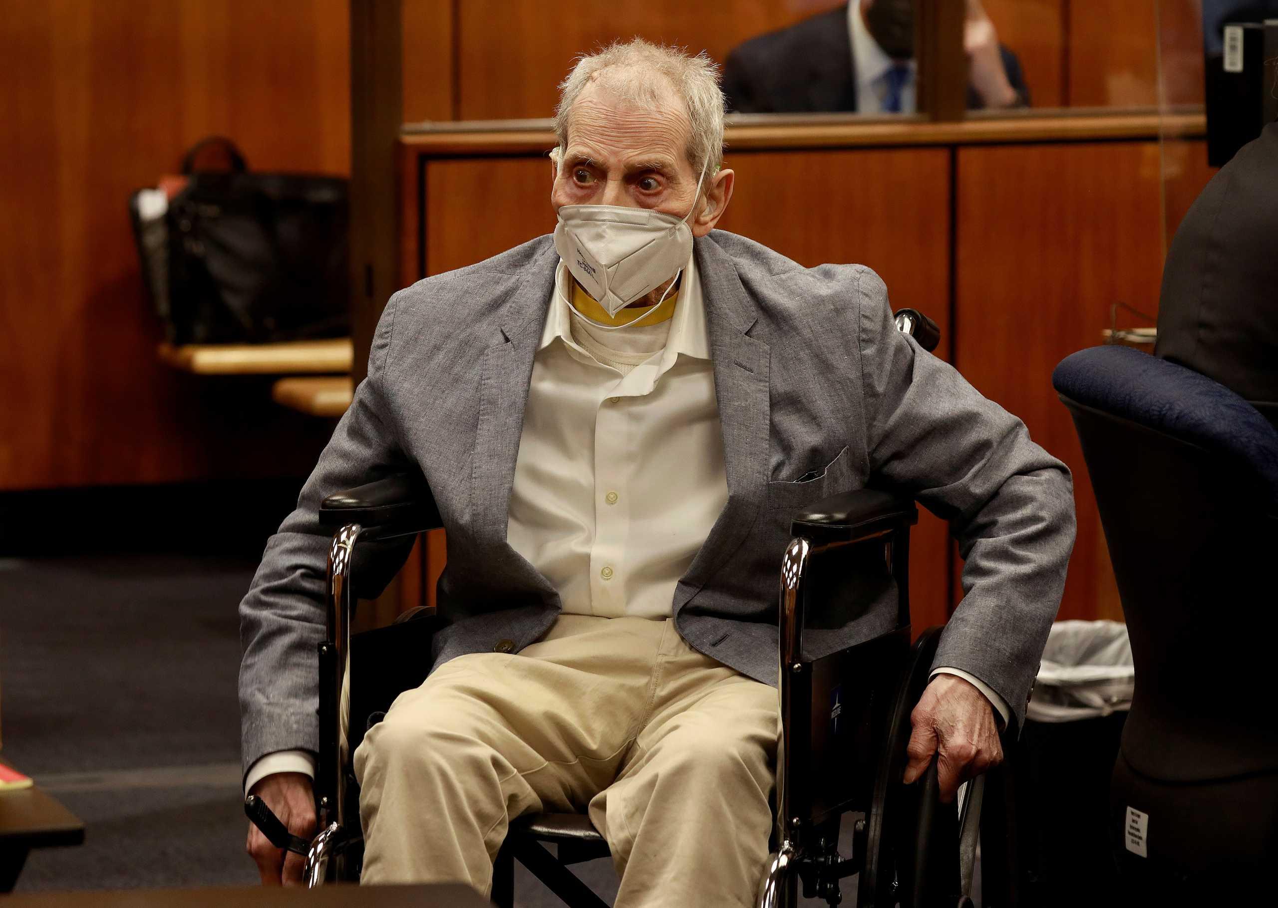 Καλιφόρνια: Ο βαθύπλουτος Ρόμπερτ Νταρστ καταδικάστηκε για το φόνο της καλύτερής του φίλης