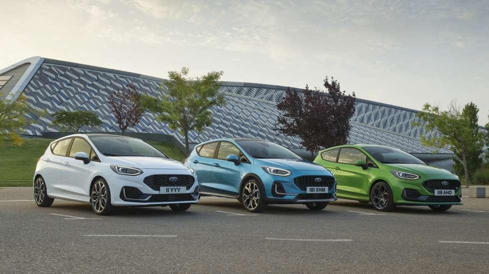Νέα εμφάνιση και τεχνολογική αναβάθμιση για το Ford Fiesta (video)