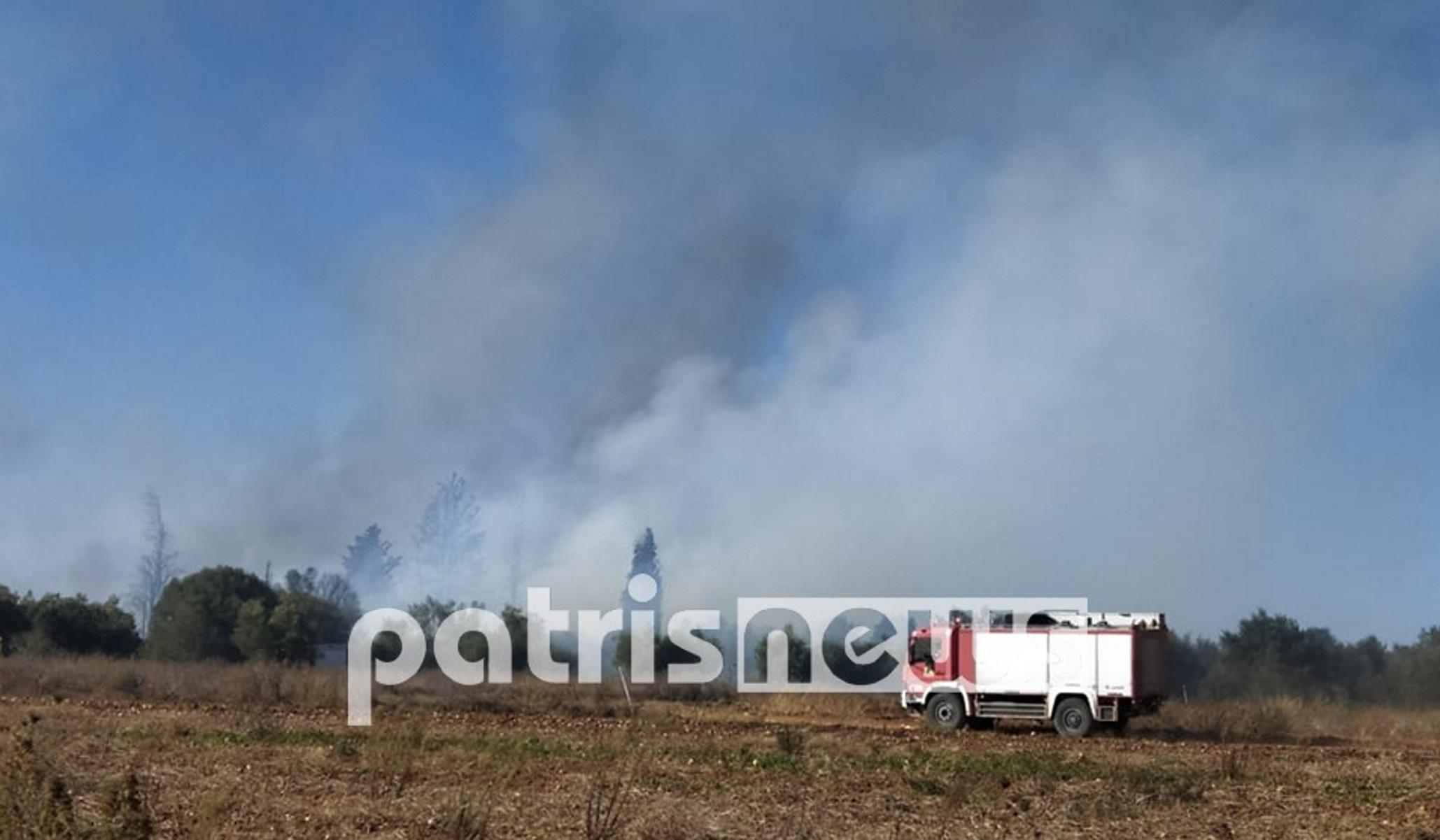 Φωτιά στα Δουνέικα Ηλείας – Στη μάχη και δύο αεροπλάνα