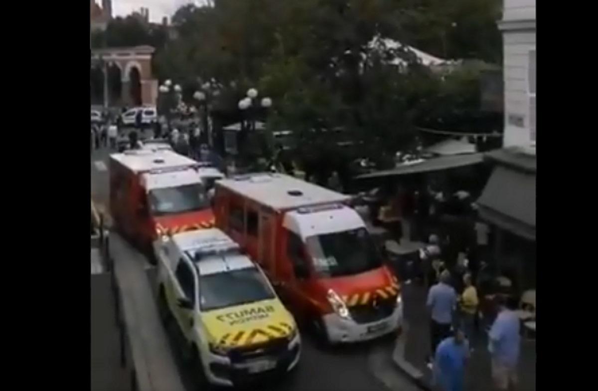 Γαλλία: Αυτοκίνητο έπεσε σε καφετέρια – Πληροφορίες για τραυματίες