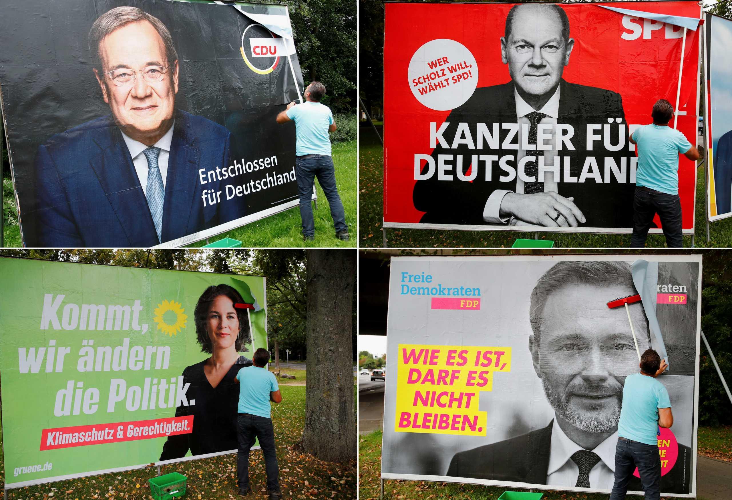 Γερμανικές εκλογές: Οι αναποφάσιστοι θα κρίνουν το αποτέλεσμα – Οι διαβουλεύσεις για την επόμενη ημέρα