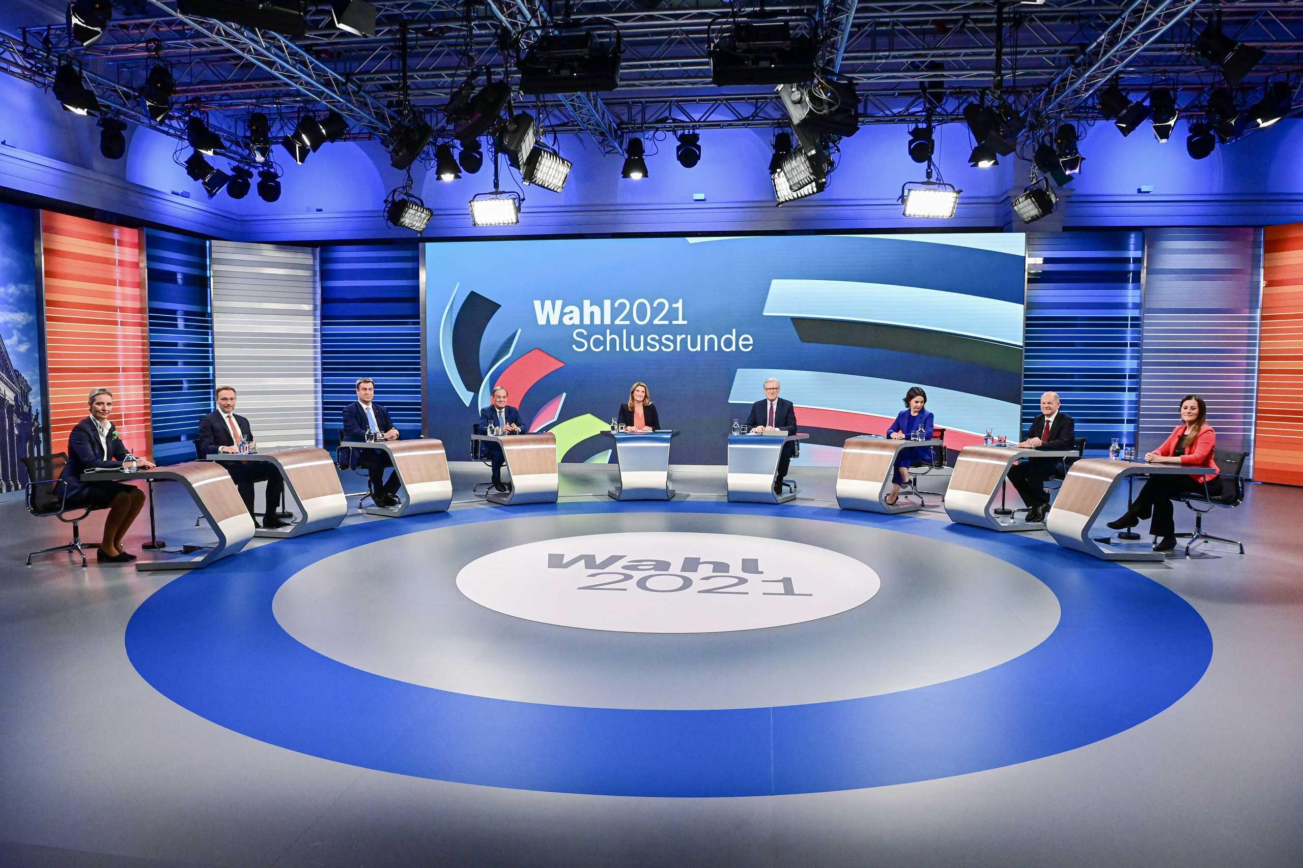 Εκλογές στη Γερμανία: Ροκανίζουν τη διαφορά οι Χριστιανοδημοκράτες – Χωρίς εκπλήξεις το τελευταίο debate