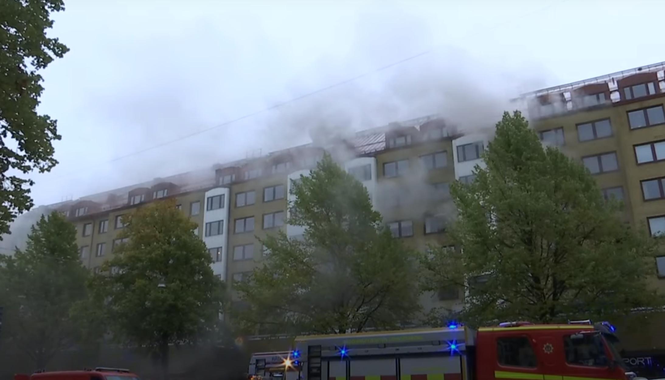 Γκέτεμποργκ: Έκρηξη σε πολυκατοικία – Πάνω από 20 τραυματίες