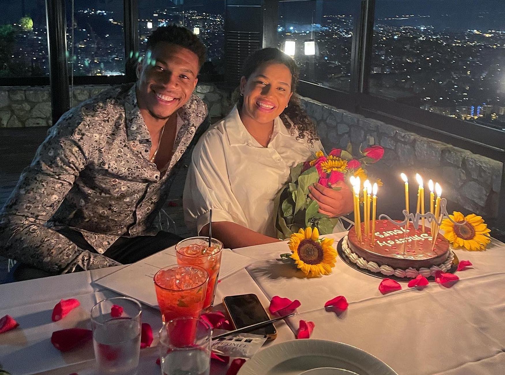 Ο Γιάννης Αντετοκούνμπο ανέβασε φωτογραφίες με την Μαράια για τα γενέθλιά της