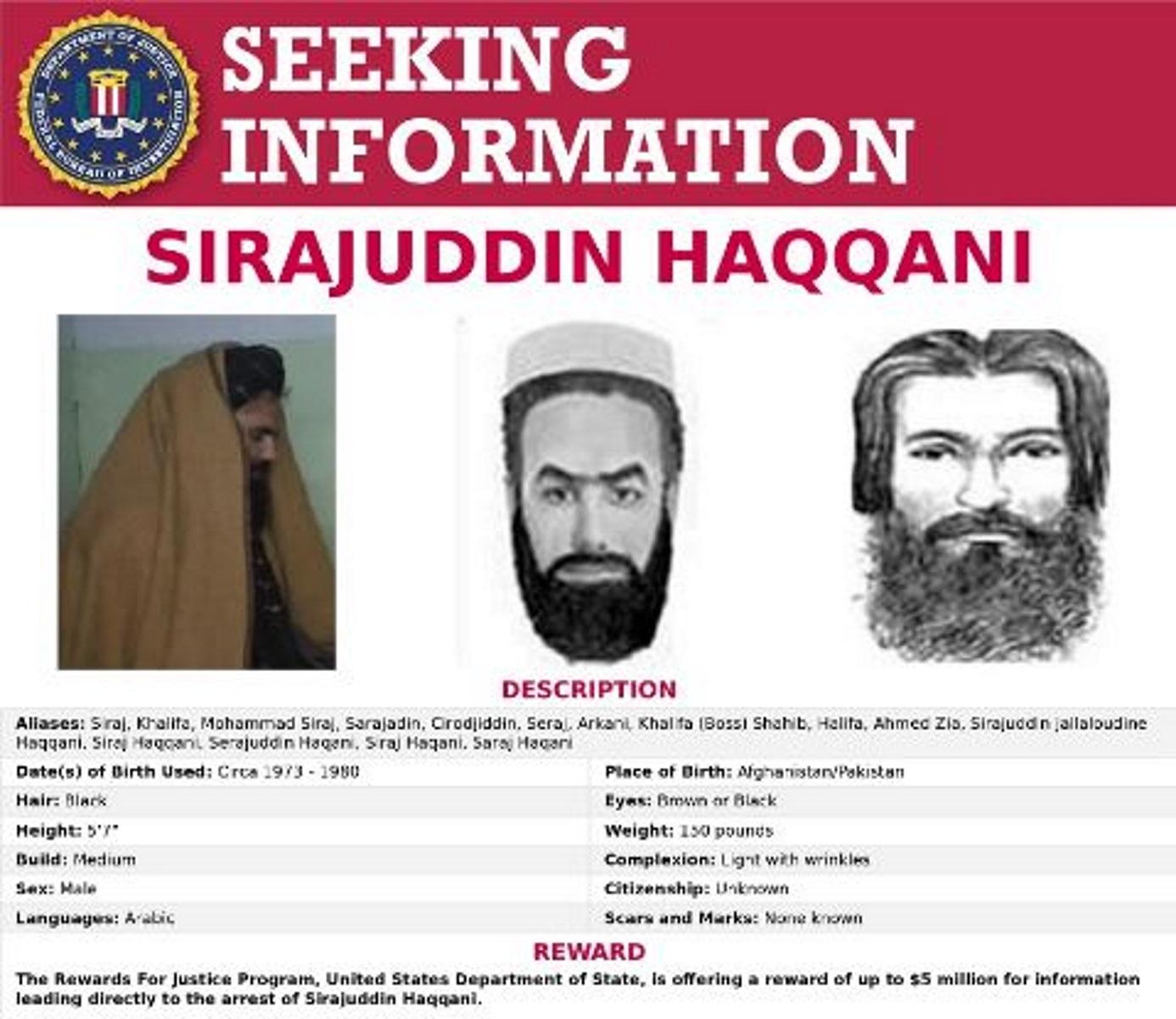 Δίκτυο Χακάνι: Οι επικηρυγμένοι τρομοκράτες στα «ηνία» της εξουσίας στο Αφγανιστάν