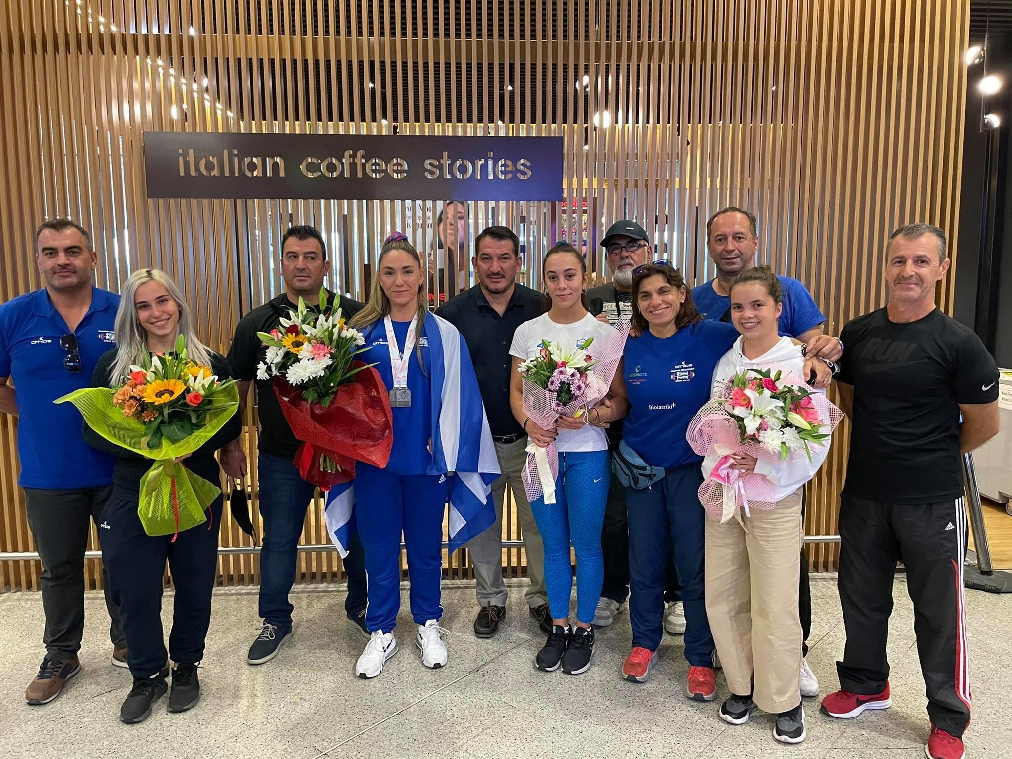 Άρση Βαρών: Με δύο χάλκινα μετάλλια επέστρεψε από την Φινλανδία η ελληνική αποστολή