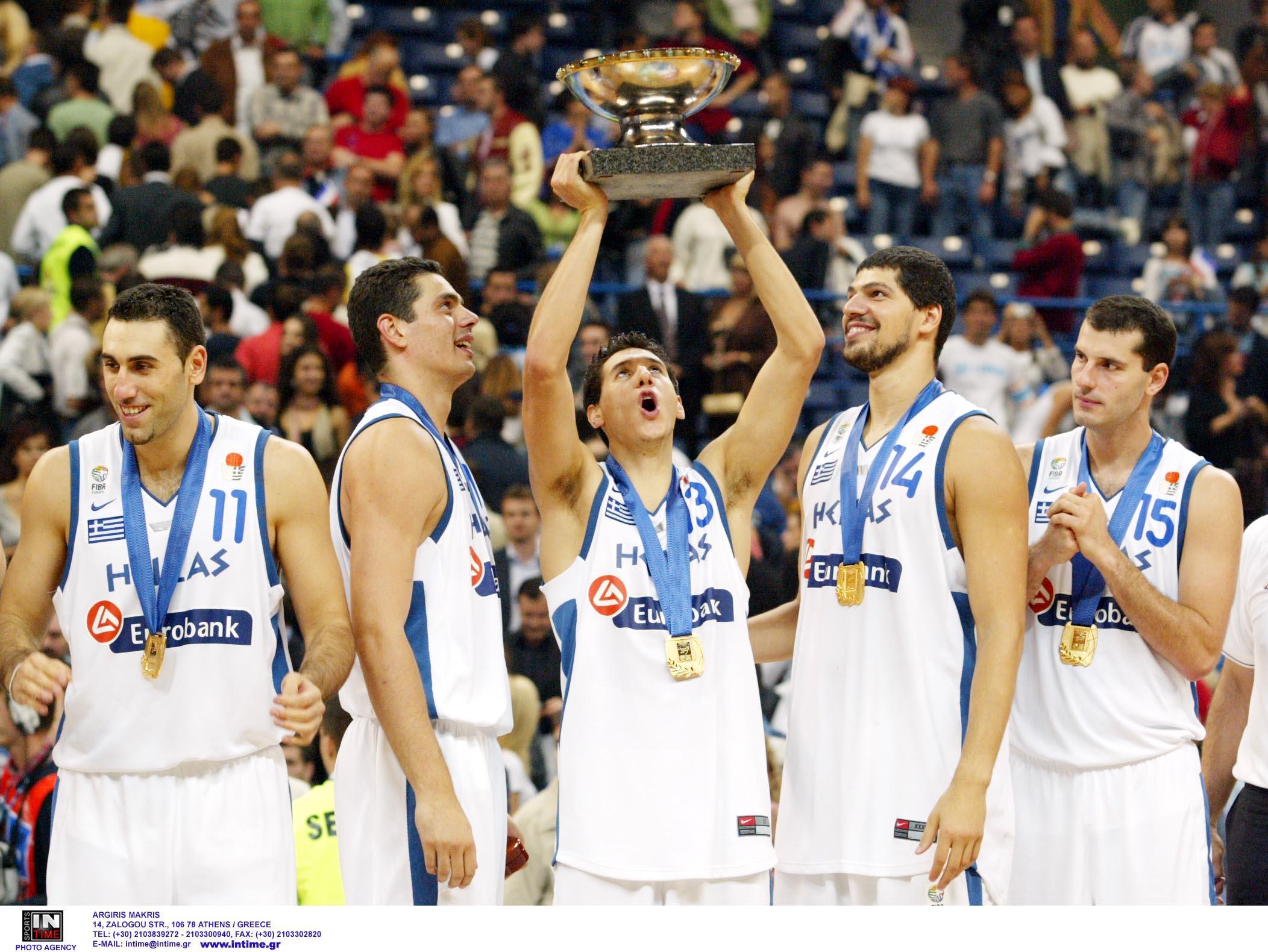 Εθνική Ελλάδας – Σαν σήμερα: Όταν η γαλανόλευκη κατακτούσε για δεύτερη φορά την κορυφή του ευρωπαϊκού μπάσκετ