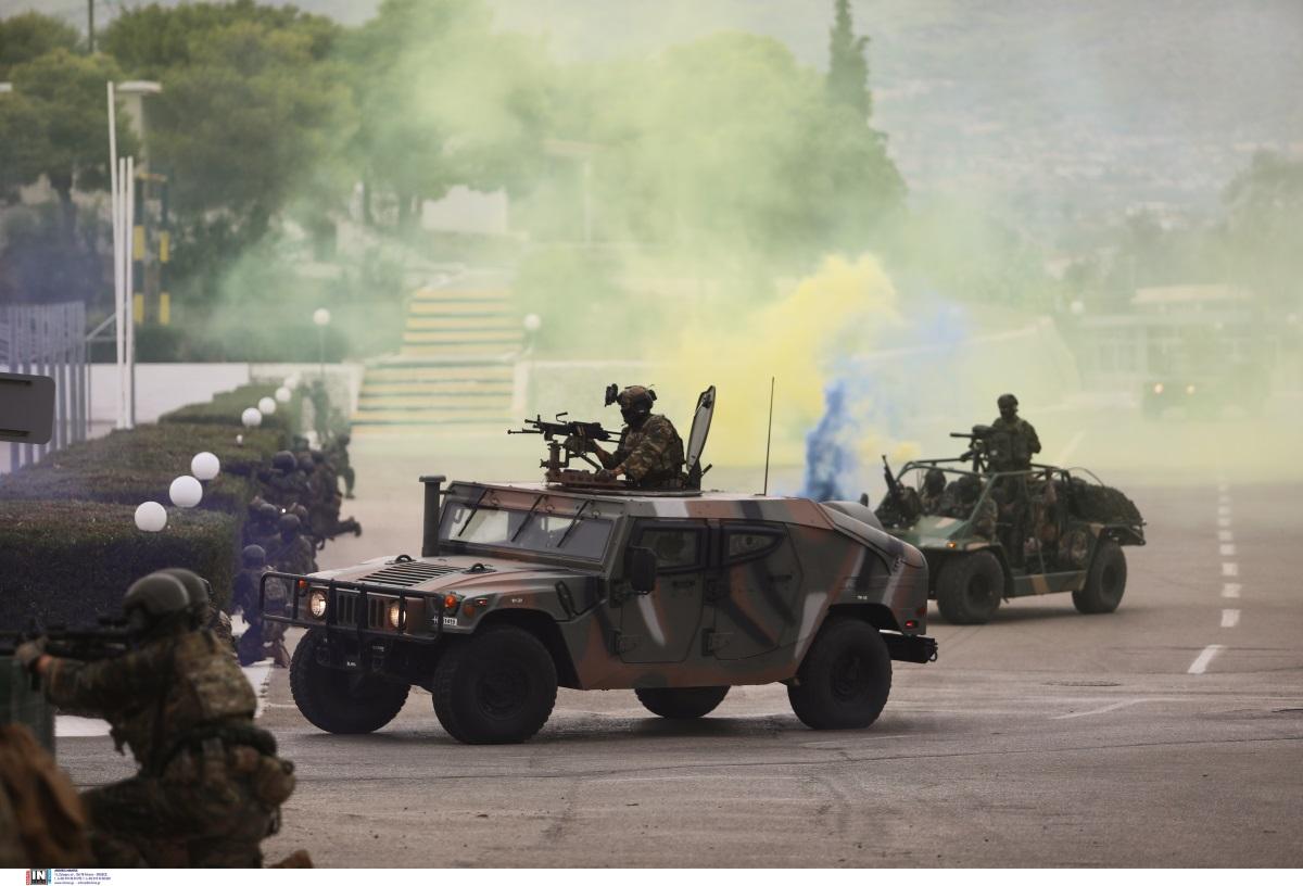 «Ηρακλής»: Εντυπωσιακή άσκηση των Ειδικών Δυνάμεων Ελλάδας, Αιγύπτου, ΗΑΕ και Σαουδικής Αραβίας [pics]