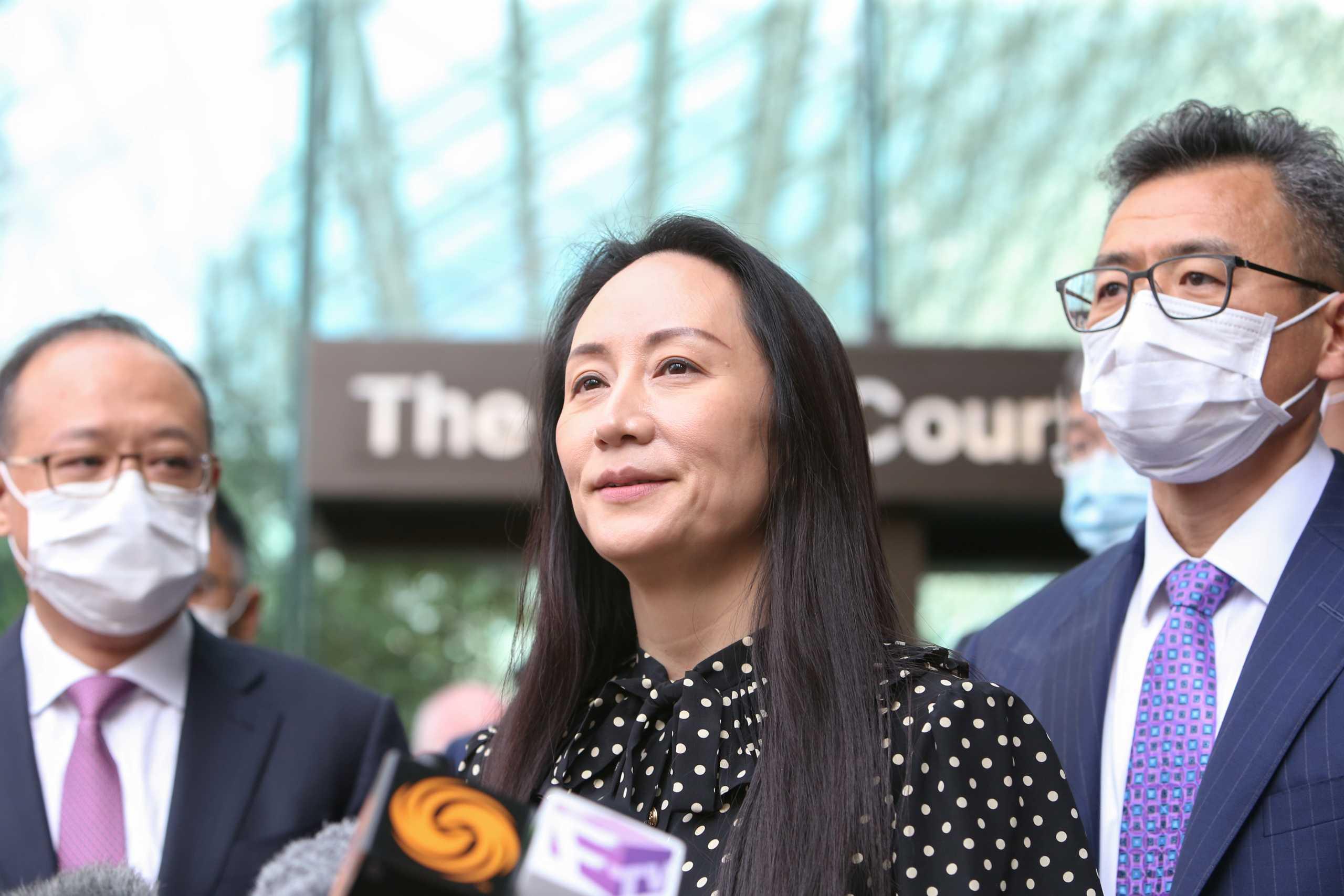 Καναδάς: Ελεύθερη η οικονομική διευθύντρια της Huawei – Αποφυλακίστηκαν δύο Καναδοί στην Κίνα
