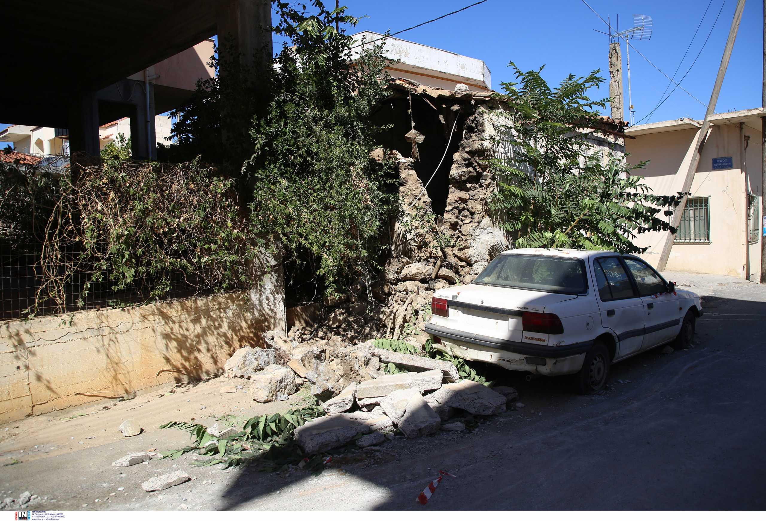 Σεισμός στην Κρήτη: Χτύπησε μήνυμα του 112 – «Μη μπαίνετε σε κτίρια που έχουν ζημιές»
