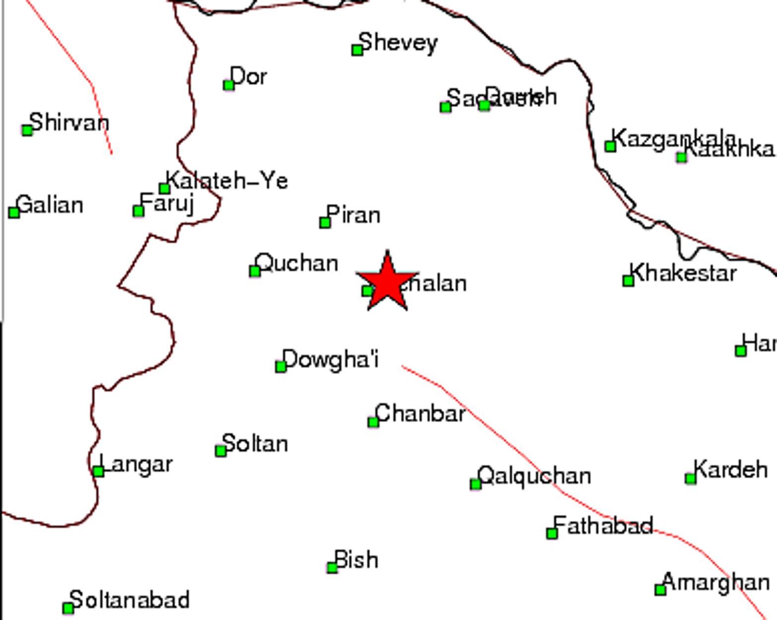 Σεισμός 5,2 Ρίχτερ στο Ιράν