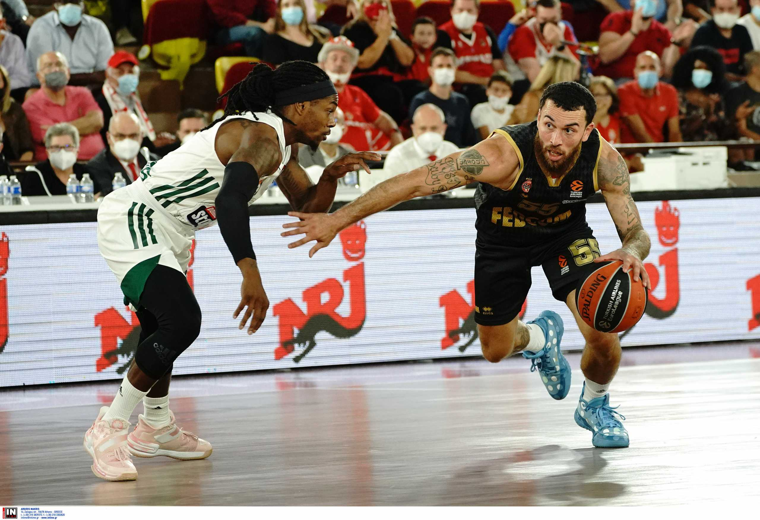 Euroleague, Μονακό – Παναθηναϊκός 75-63: «Ξυπόλυτοι» στο Πριγκιπάτο οι «πράσινοι»