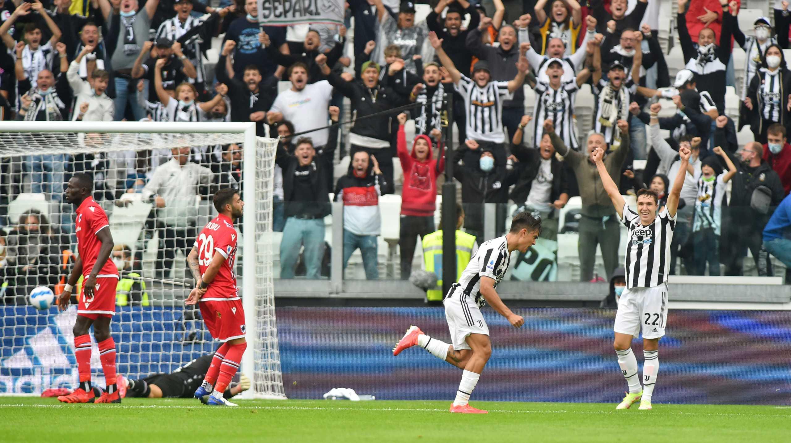 Serie A, Γιουβέντους – Σαμπντόρια 3-2: «Πύρρειος» νίκη για τη «γηραιά κυρία»