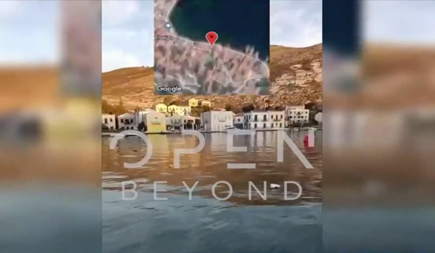 Καστελόριζο: Το βίντεο ντοκουμέντο που τράβηξε ο Τούρκος φυγάς – Τα ερωτήματα για το στίγμα