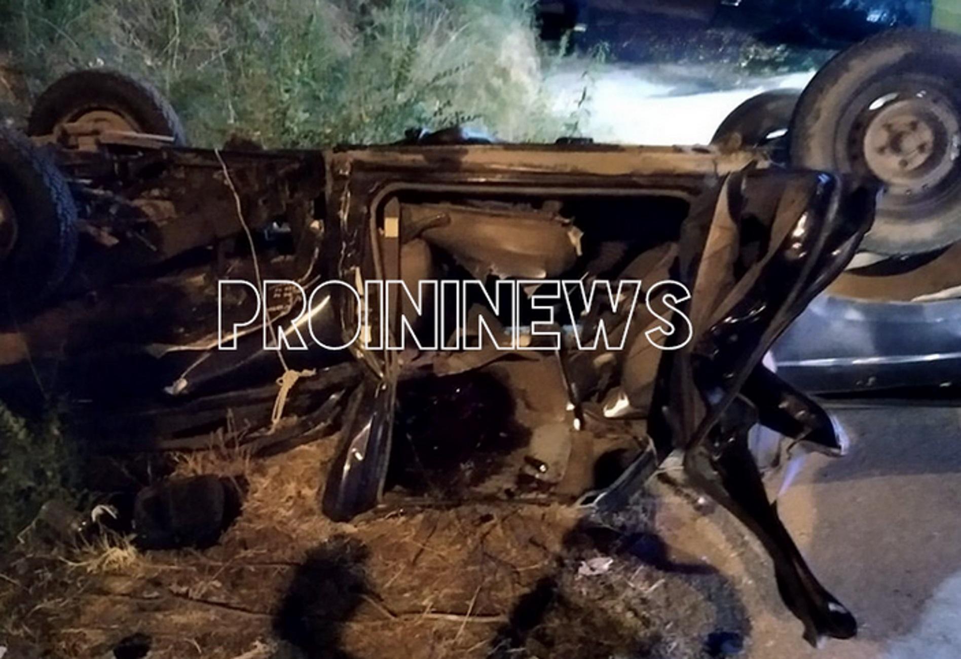 Καβάλα: Φοβερό τροχαίο με πτώση δύο αυτοκινήτων από γέφυρα – Ένας νεκρός και δύο σοβαρά τραυματίες