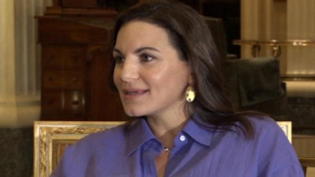 Η Όλγα Κεφαλογιάννη στις πρώτες της δηλώσεις μετά τη γέννηση των διδύμων