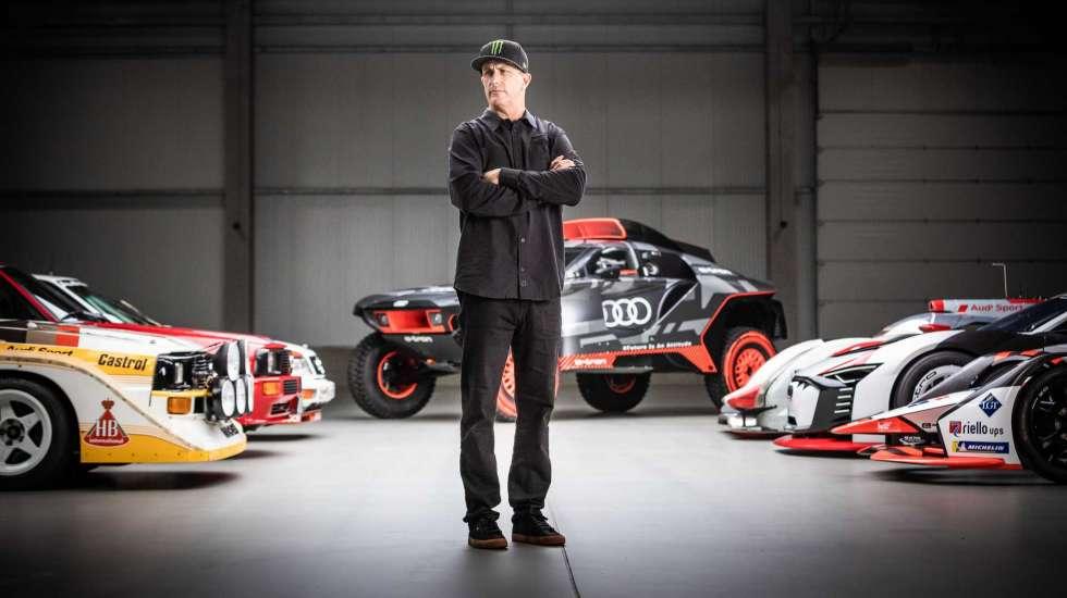Ο Ken Block θα «καίει» λάστιχα με ηλεκτρικά της Audi! (video)