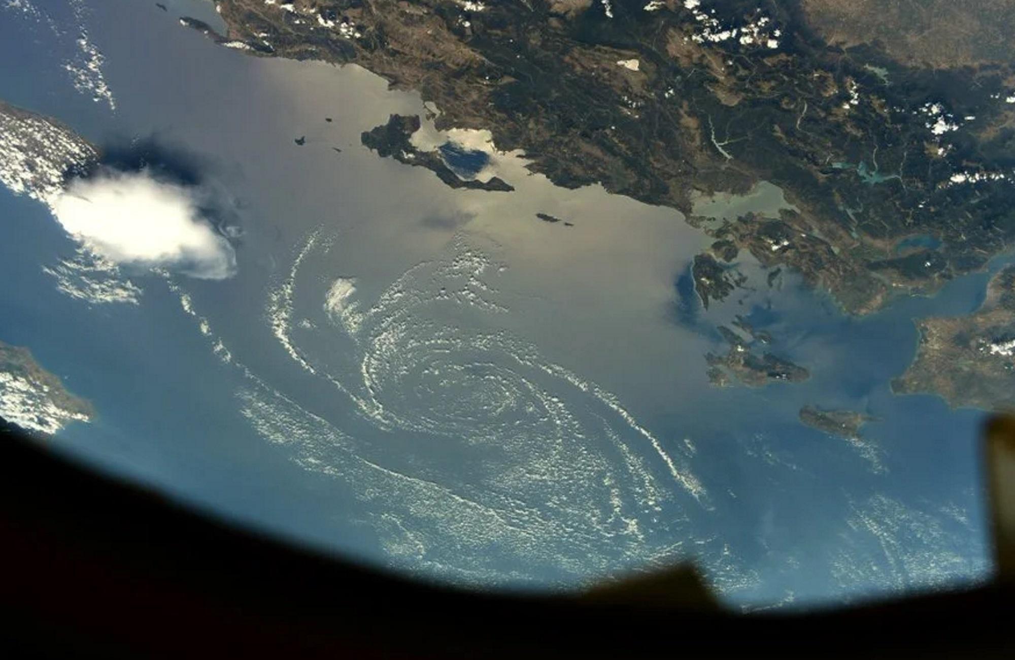 Κέρκυρα: Δείτε τη φωτογραφία από το διάστημα που καθηλώνει – Το σχόλιο που έκανε ο αστροναύτης