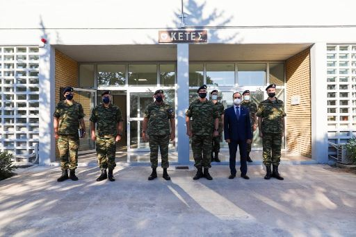 Α/ΓΕΕΘΑ: Επιθεώρηση και ενημέρωση Φλώρου στο Κέντρο Τεχνολογίας Στρατού