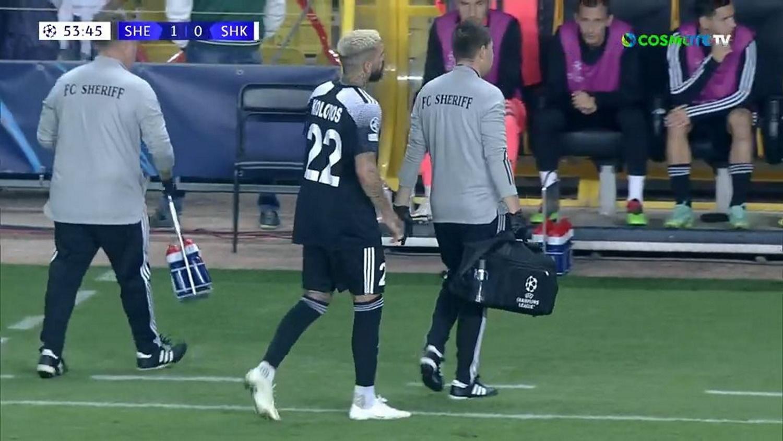 Champions League: Ο Δημήτρης Κολοβός τραυματίστηκε με απίστευτο τρόπο στο Σέριφ – Σαχτάρ