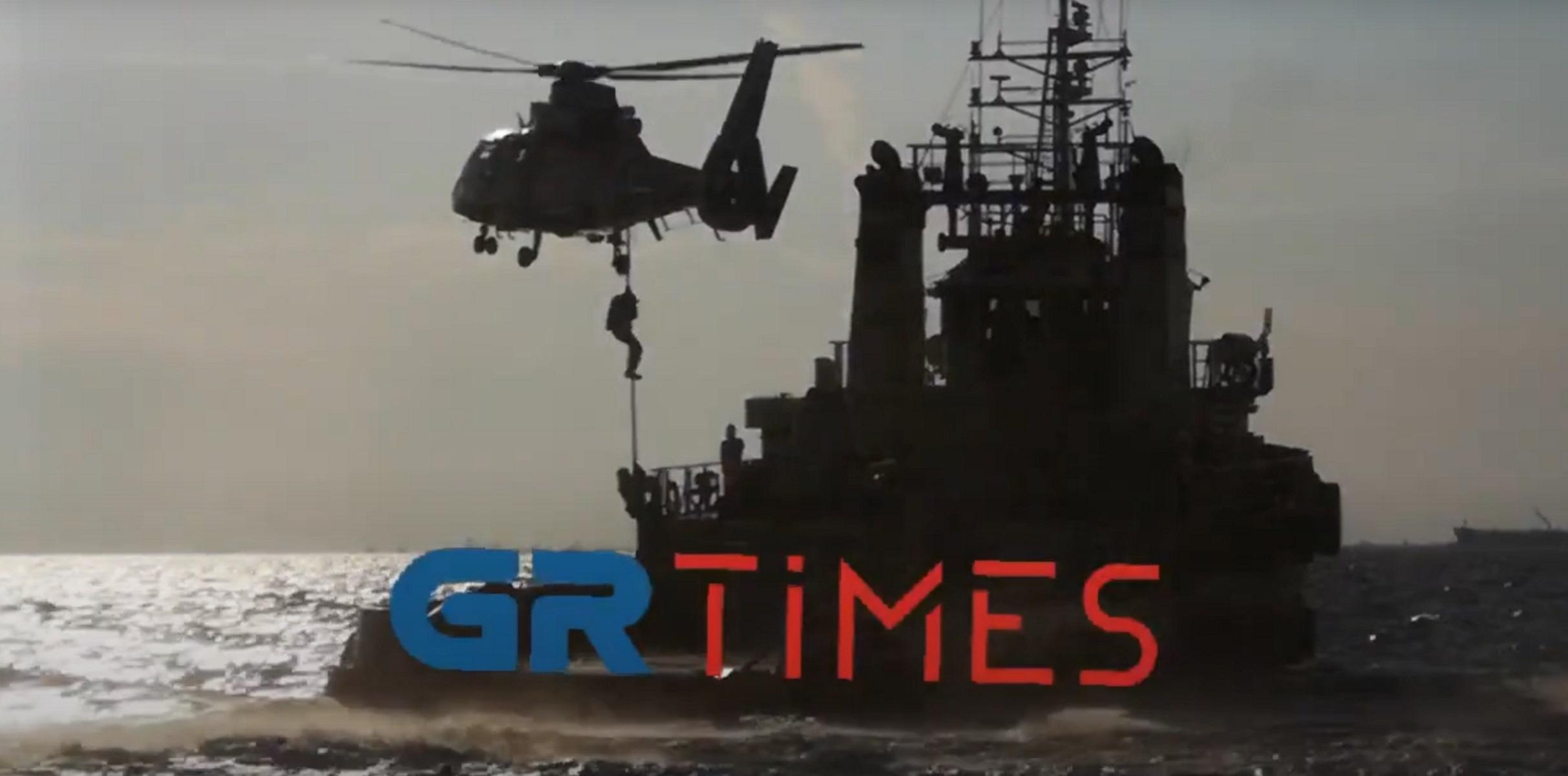 ΔΕΘ 2021: «Κομάντος» του Λιμενικού σε δράση – Βίντεο με σκηνές που κόβουν την ανάσα
