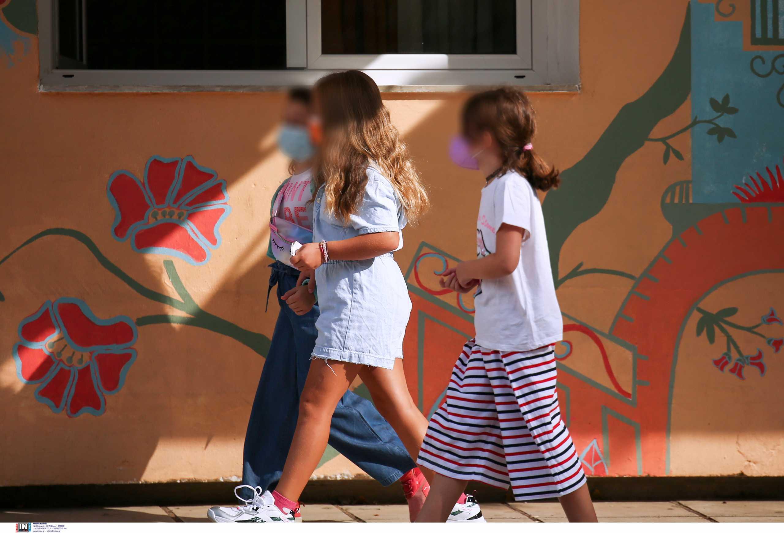 Κορονοϊός – κρούσματα σε παιδιά: Συνολικά 3.559 στις ηλικίες 4-18 σε μία εβδομάδα