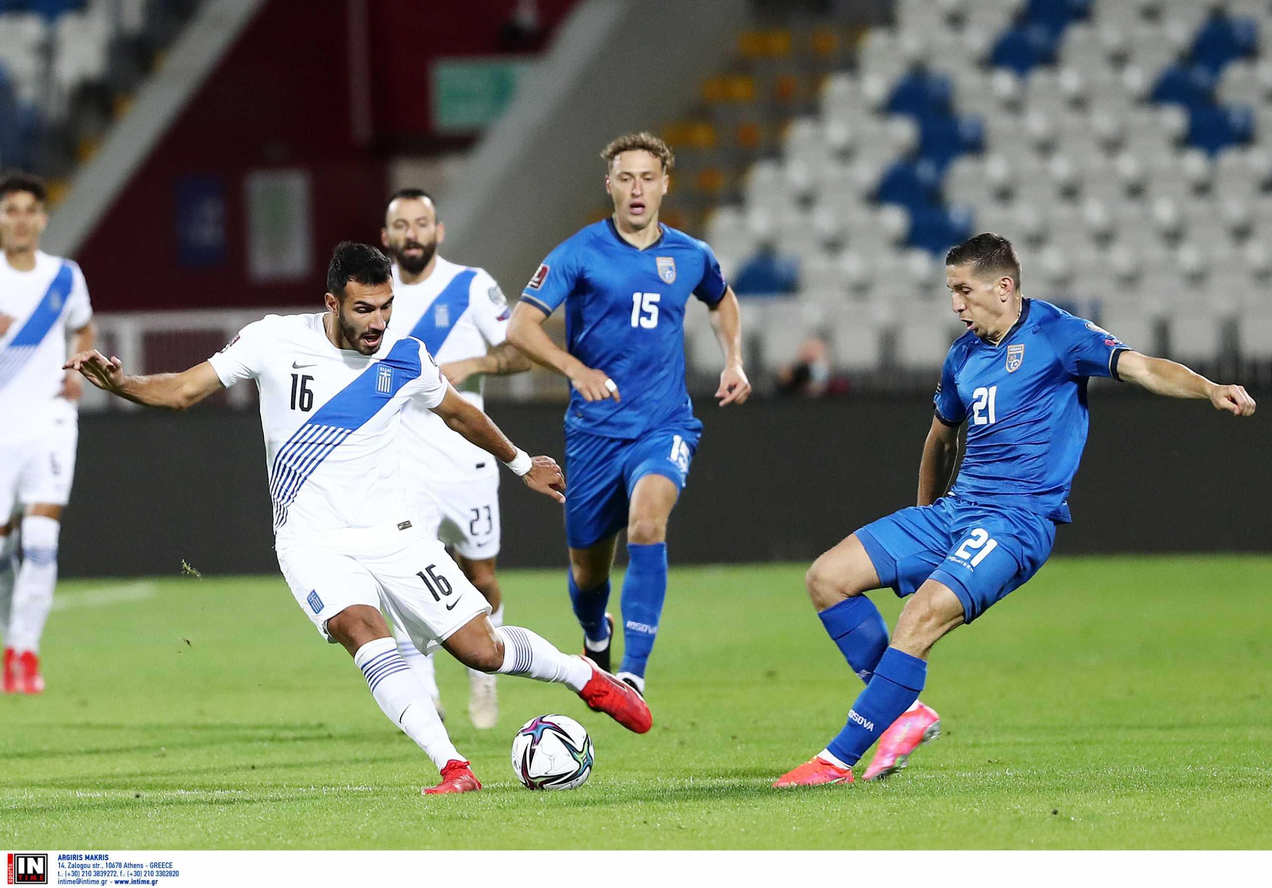 Κόσοβο – Ελλάδα 1-1 ΤΕΛΙΚΟ