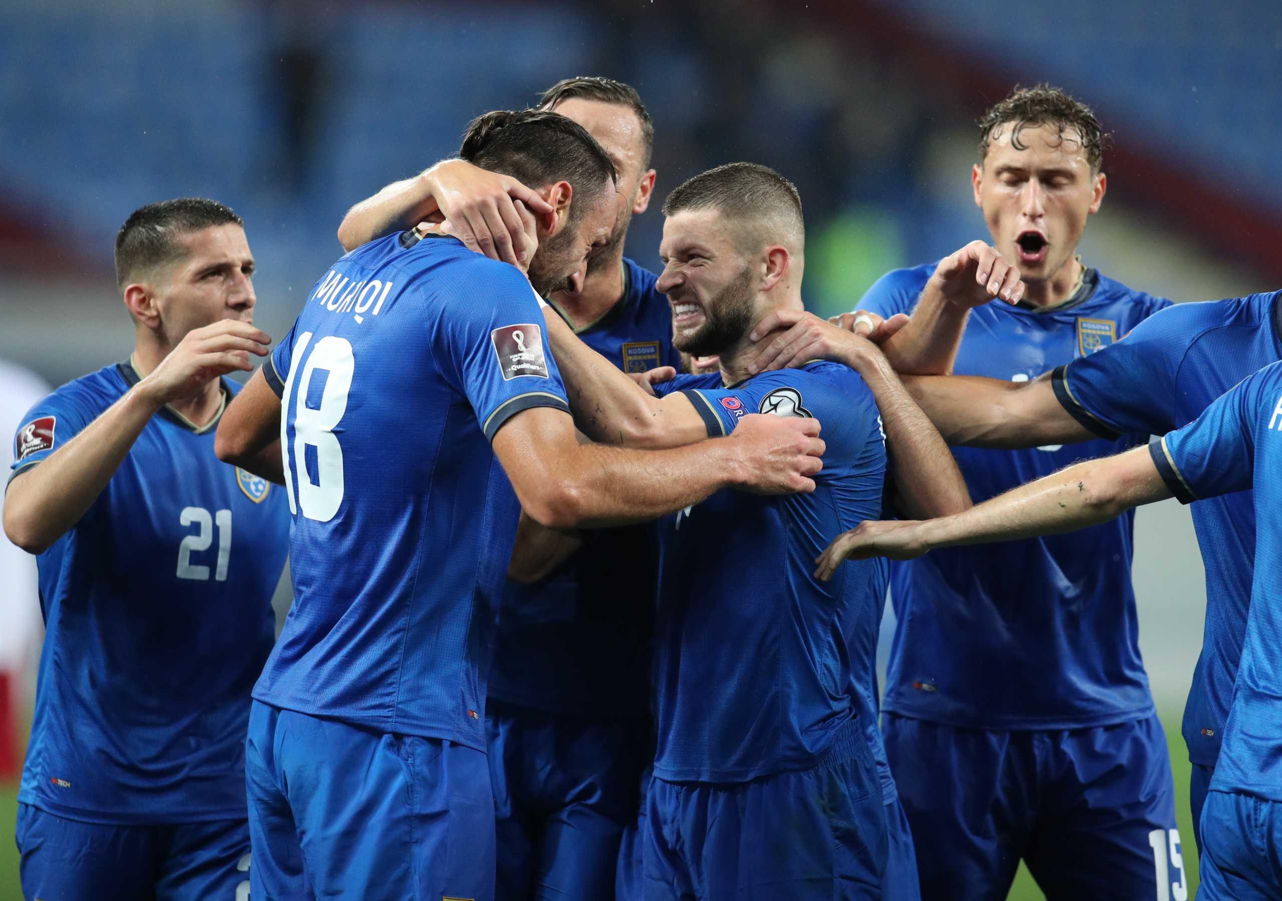 Προκριματικά Παγκοσμίου Κυπέλλου: Διπλό για το Κόσοβο πριν την Ελλάδα