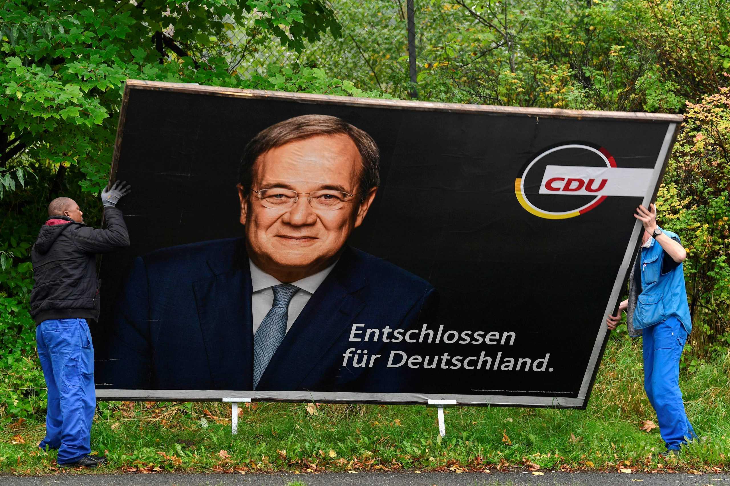 Εκλογές στη Γερμανία – CDU: Υπό παραίτηση ο Λάσετ μετά την πανωλεθρία