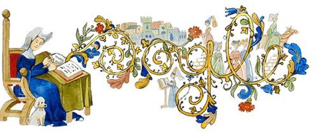 Κριστίν ντε Πιζάν: Η Google τιμά την πρώτη Ευρωπαία επαγγελματία συγγραφέα με ένα Doodle