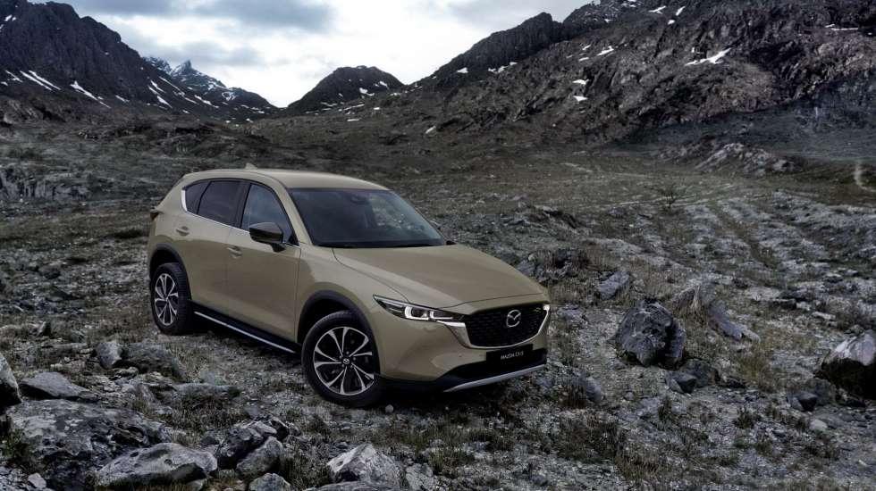 Διακριτική αναβάθμιση για το Mazda CX-5 (pics)
