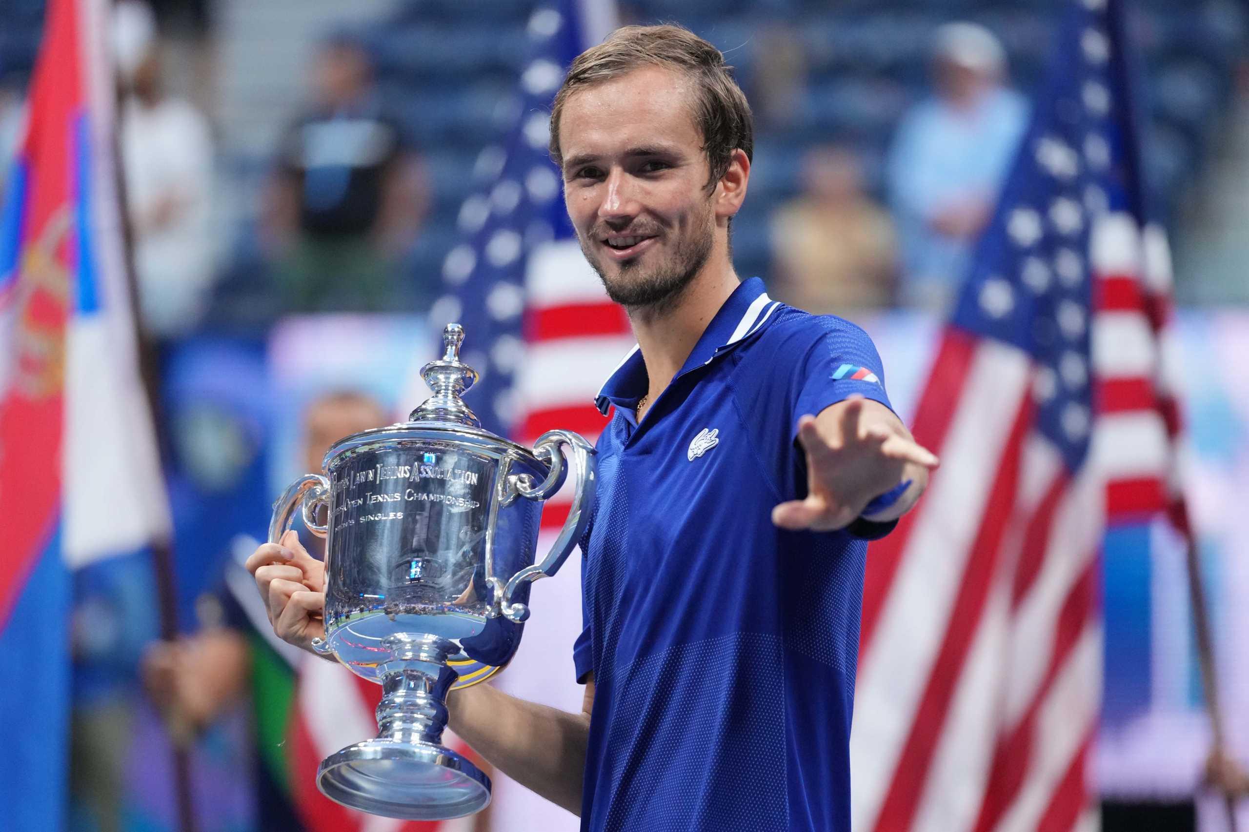 US Open: Ο Μεντβέντεφ διέλυσε τον Τζόκοβιτς και του κατέστρεψε το όνειρο