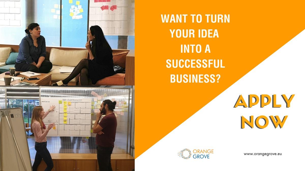 Orange Grove: Δέχεται αιτήσεις για καινοτόμες επιχειρηματικές ιδέες
