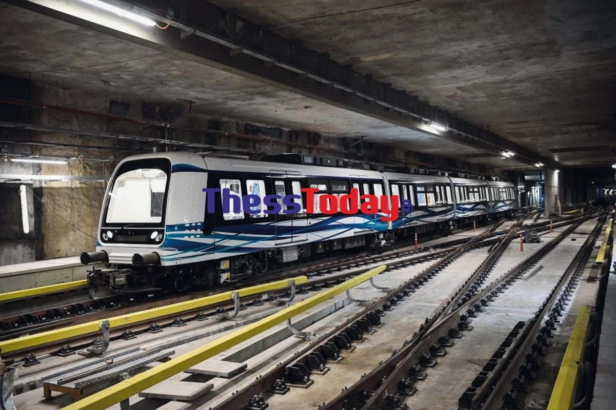 Μετρό Θεσσαλονίκης: Σε φουλ ρυθμούς τα δοκιμαστικά δρομολόγια των τρένων