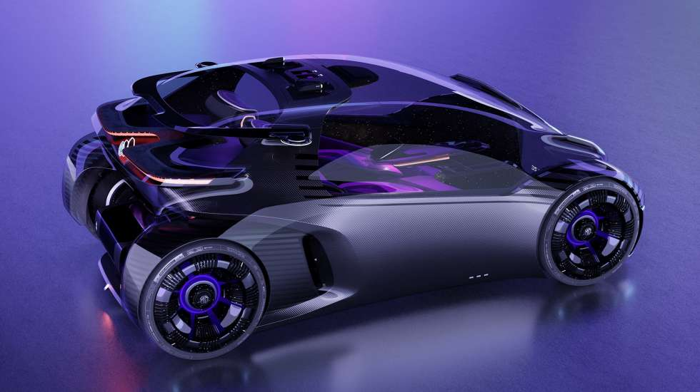 Ένα ηλεκτρικό αυτοκίνητο εμπνευσμένο από τον κόσμο των βιντεοπαιχνιδιών! (video)